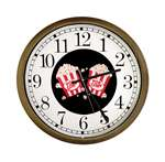 New Clock w/ Black Popcorn Logo