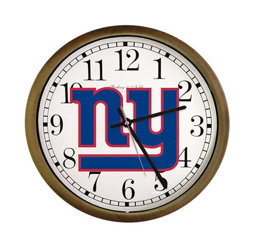 New Clock W/ New York Giants NFL Team Logo