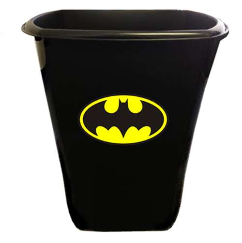 The Furniture Cove New Black Finish Trash Can Waste