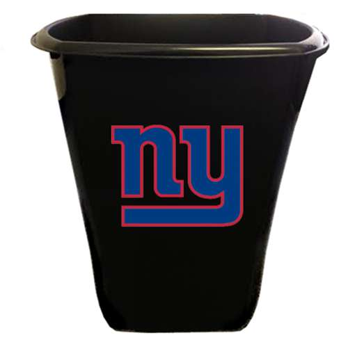 New Black Finish Trash Can Waste Basket Featuring New York Giants NFL Team  Logo