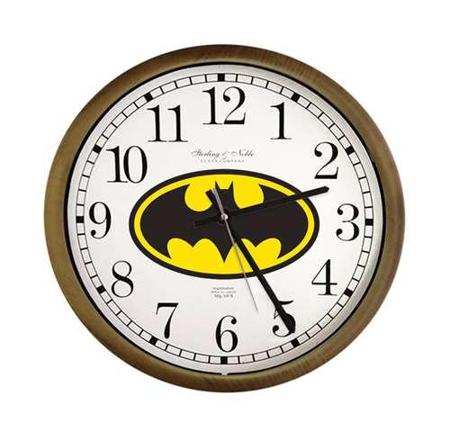 The Furniture Cove - New Cappuccino / Espresso Clock w/Batman Logo