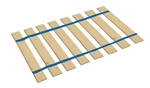Blue Strap Full Size Bed Slats Support / Bunkie Board
